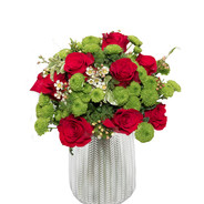 Bouquet rose rosse e santini.jpg
