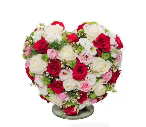 Cuore rose mix € 125,00