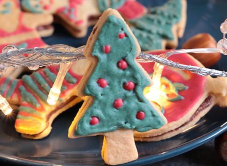 Sablés de Noël fourrés