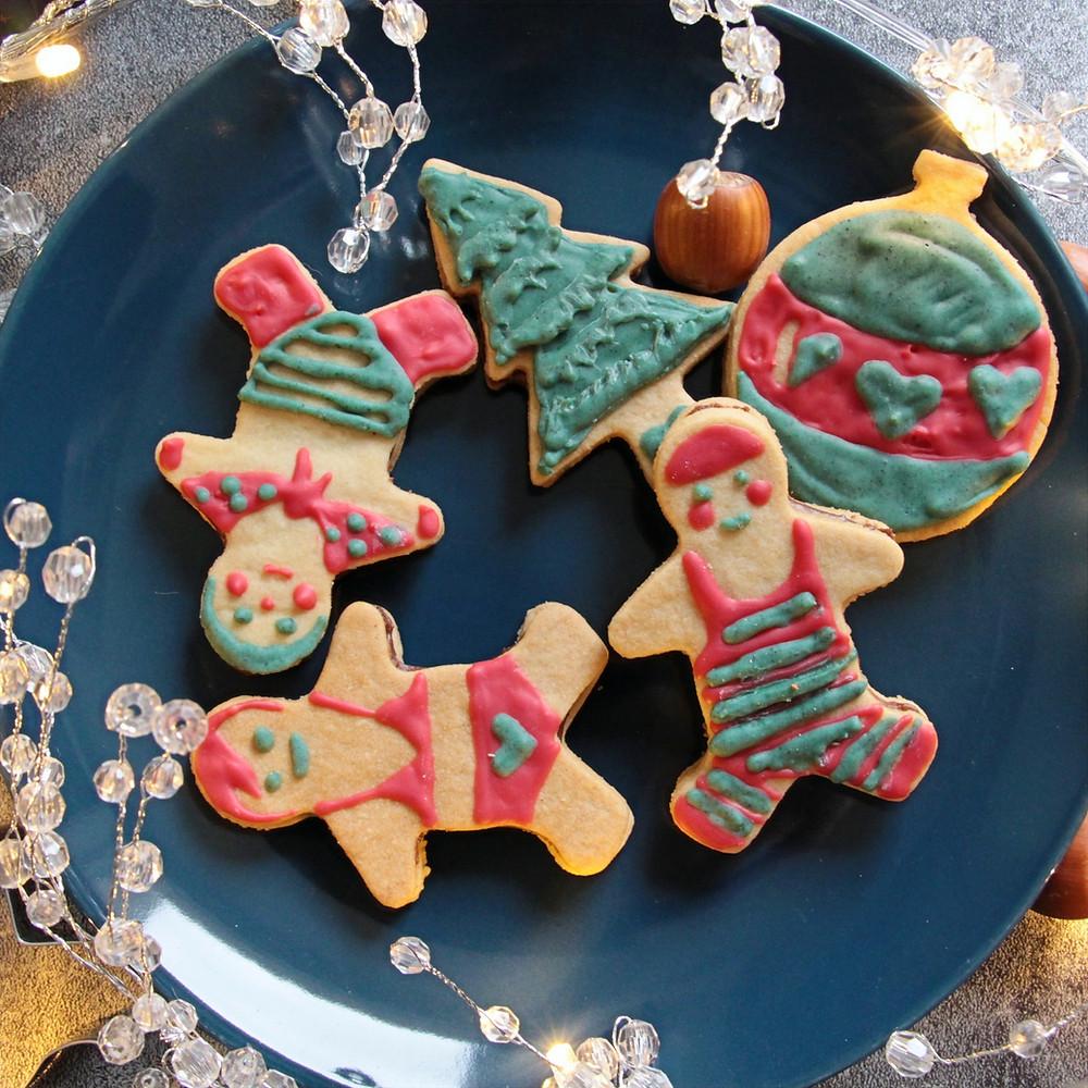 biscuits Noël décorés homemade
