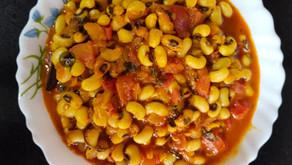 Punjabi Black Eyed Beans