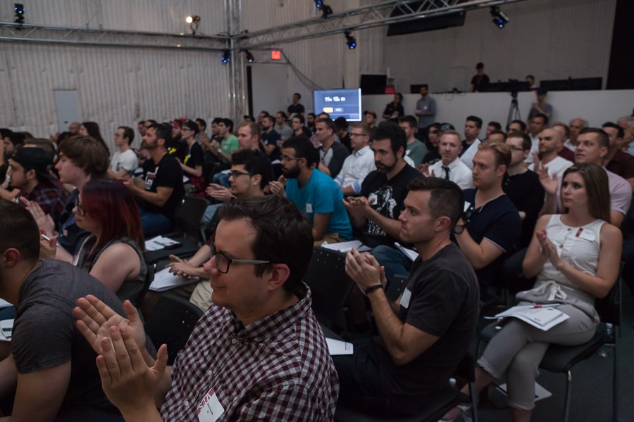 Our audience of industry pros! Spot anyone you know?