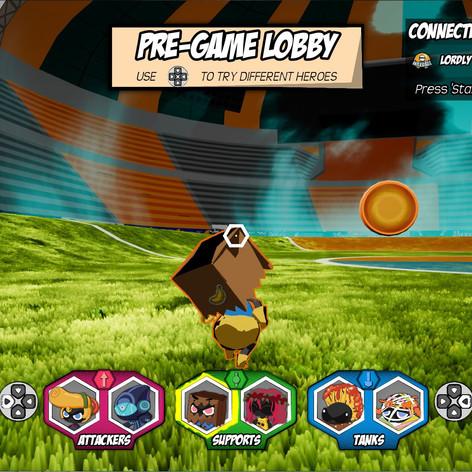 Pre-game Lobby