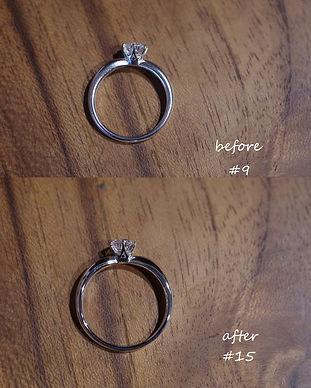 婚約指輪|プラチナリング|サイズ直し|リング修理|指輪修理|工房礫|ダイヤリング|東京|世田谷区