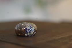 プラチナブルーダイヤ/ダイヤリング