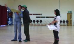Andrew In Rehearsal