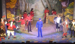 Andrew in Pantomime as Buttons