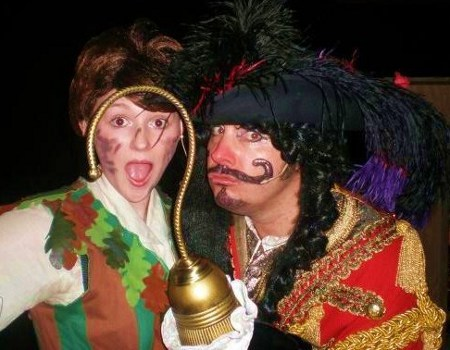 Andrew as Captain Hook