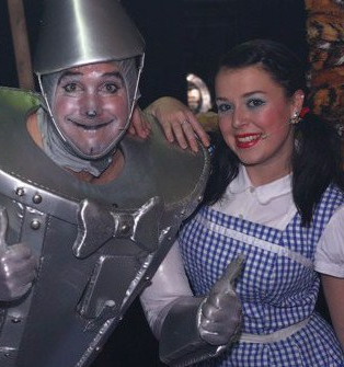 Andrew and Dani Harmer in Oz!