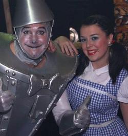 Andrew and Dani Harmer in Oz!
