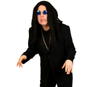 Andrew as Ozzy Osbourne