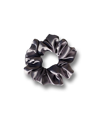 Regular Charcoal Satin