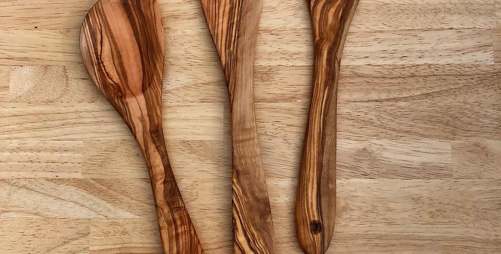 Olive Wood Spatulas