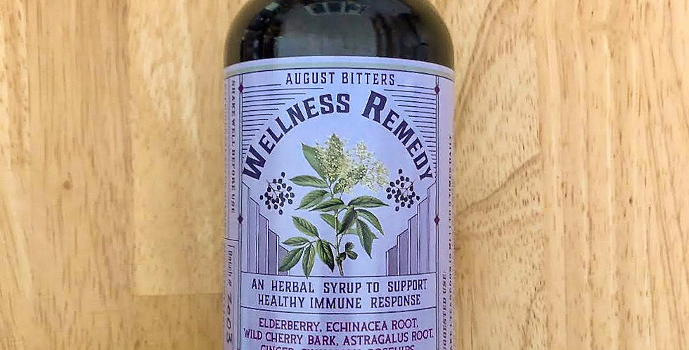 August Bitters Wellness Remedy