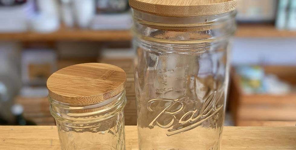 Bamboo Jar Lids