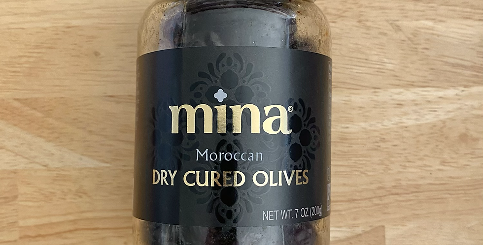 Moroccan Dry Cured Olives