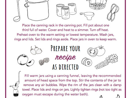 GUIDE TO CANNING
