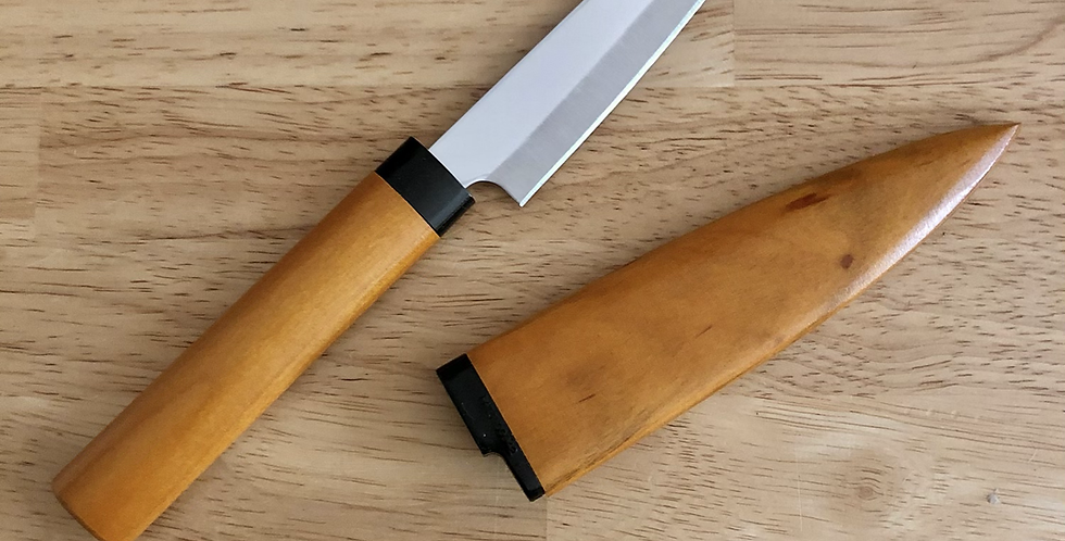 Paring Knife with Wooden Sheath