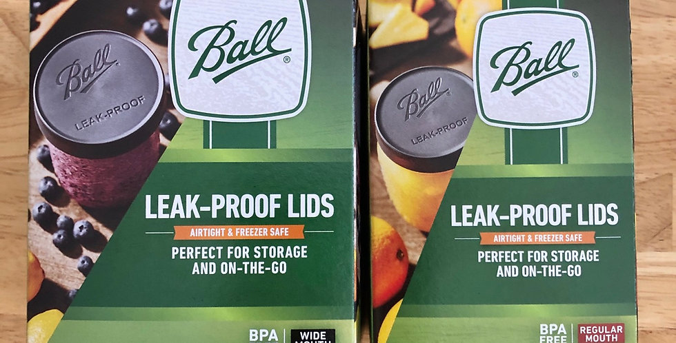 Ball Plastic Leak-proof Lids