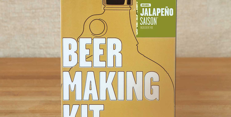 Jalapeno Saison Beer Kit