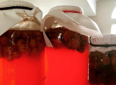 FRUIT SCRAP VINEGAR