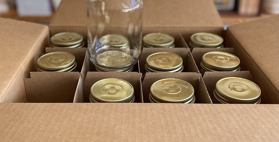 Case of Canning Jars