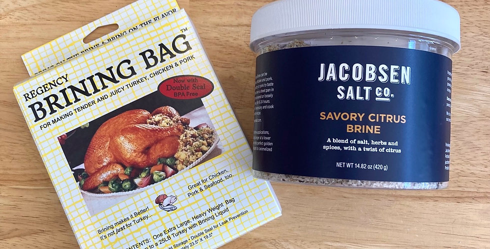 Savory Citrus Meat Brining Kit