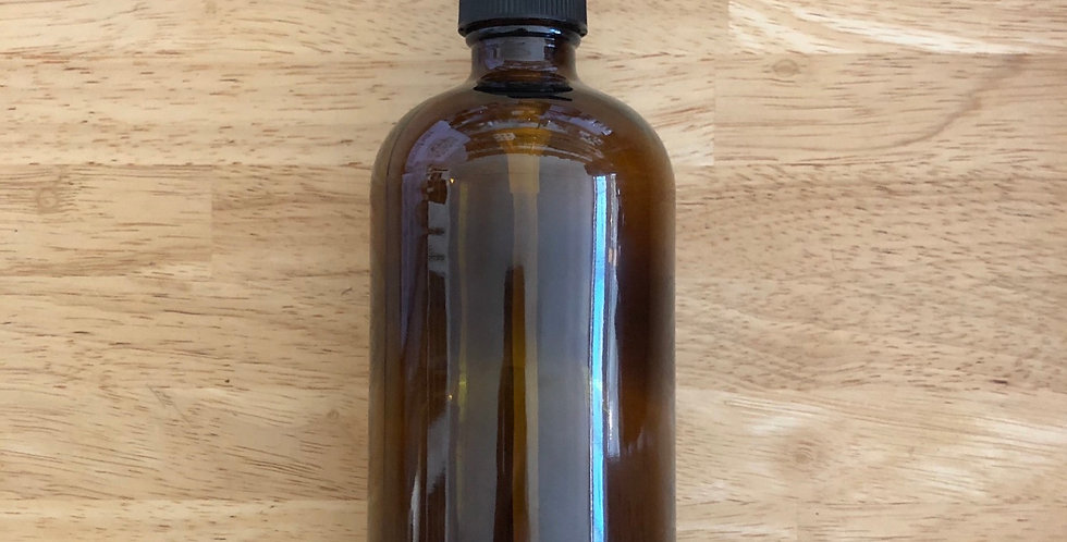 16oz Amber Pump Bottle