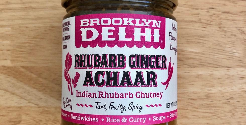 Brooklyn Delhi Rhubarb Ginger Achaar