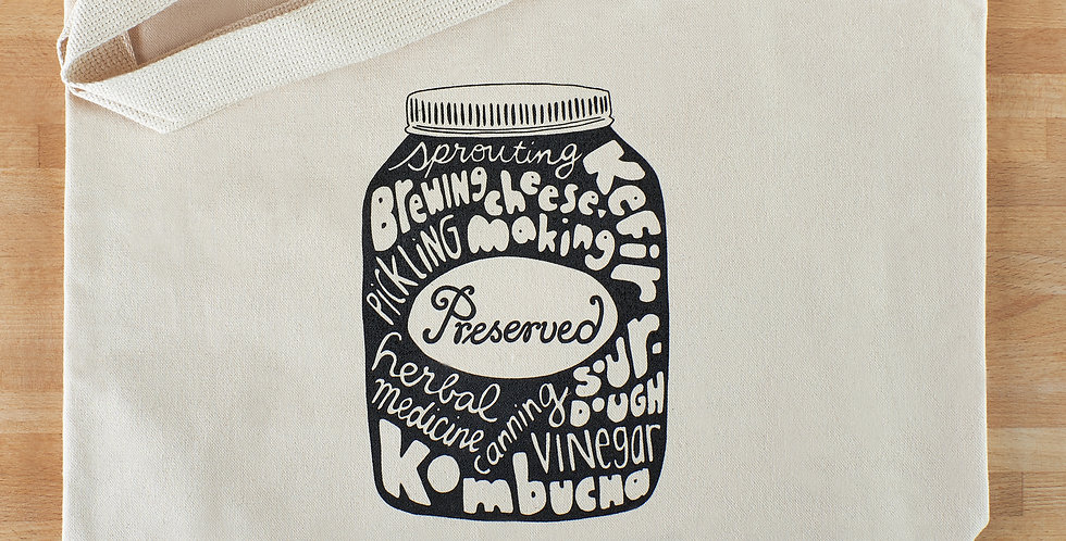 Preserved Tote Bag