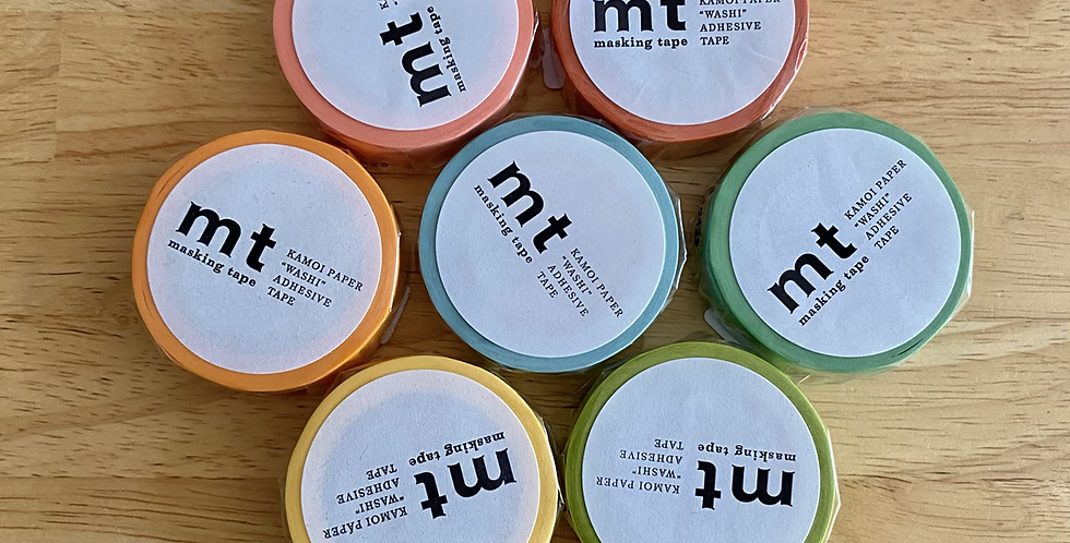 Washi Tape for labeling