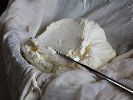 STRAINED KEFIR CHEESE