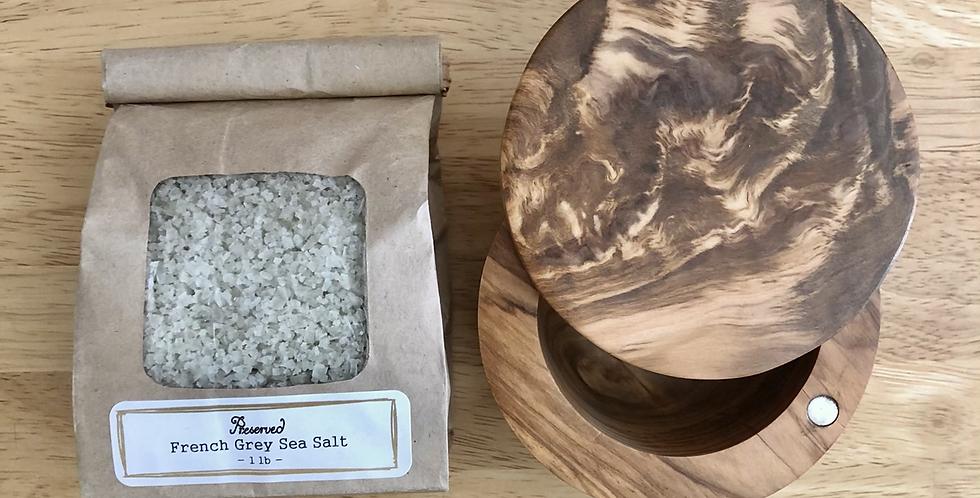Sea Salt Cellar Gift Set