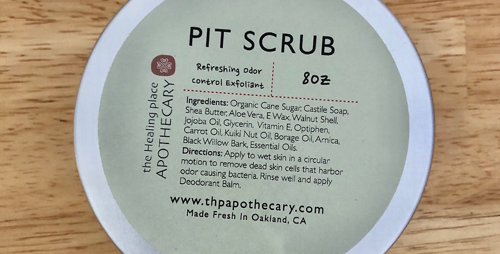 Pit Scrub Body Scrub