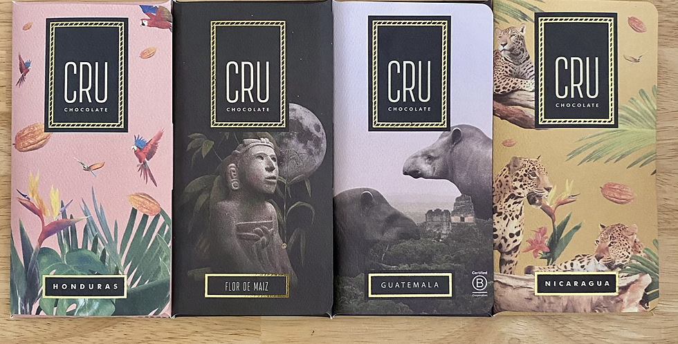 Cru Single Origin Chocolates
