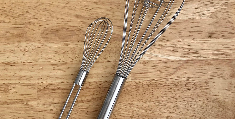 Stainless Steel Whisks
