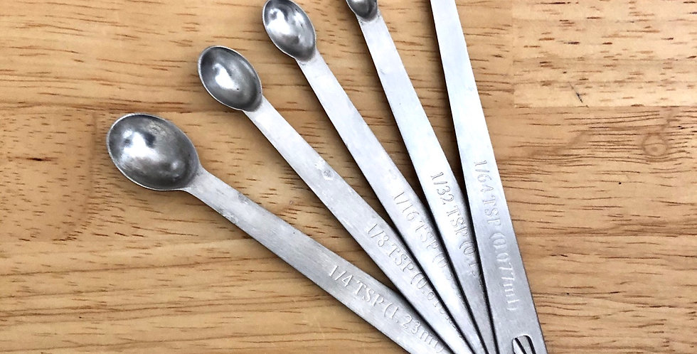 Mini Measuring Spoon Set