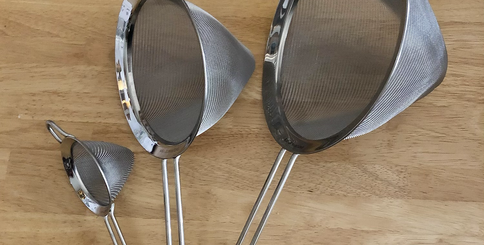 Fine Mesh Conical Strainers