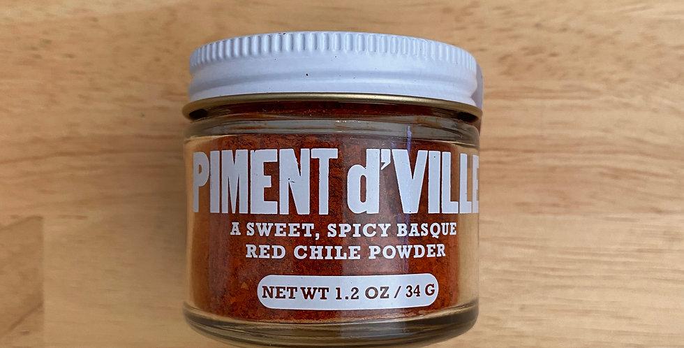 Piment D'Ville Espelette Chile Powder