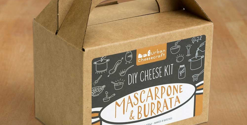 Mascarpone & Burrata Kit