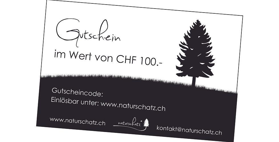 Gutschein 20 - 200 Fr.