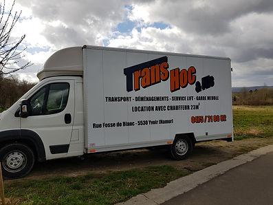 TransHoc & Fils - Camionnette 1