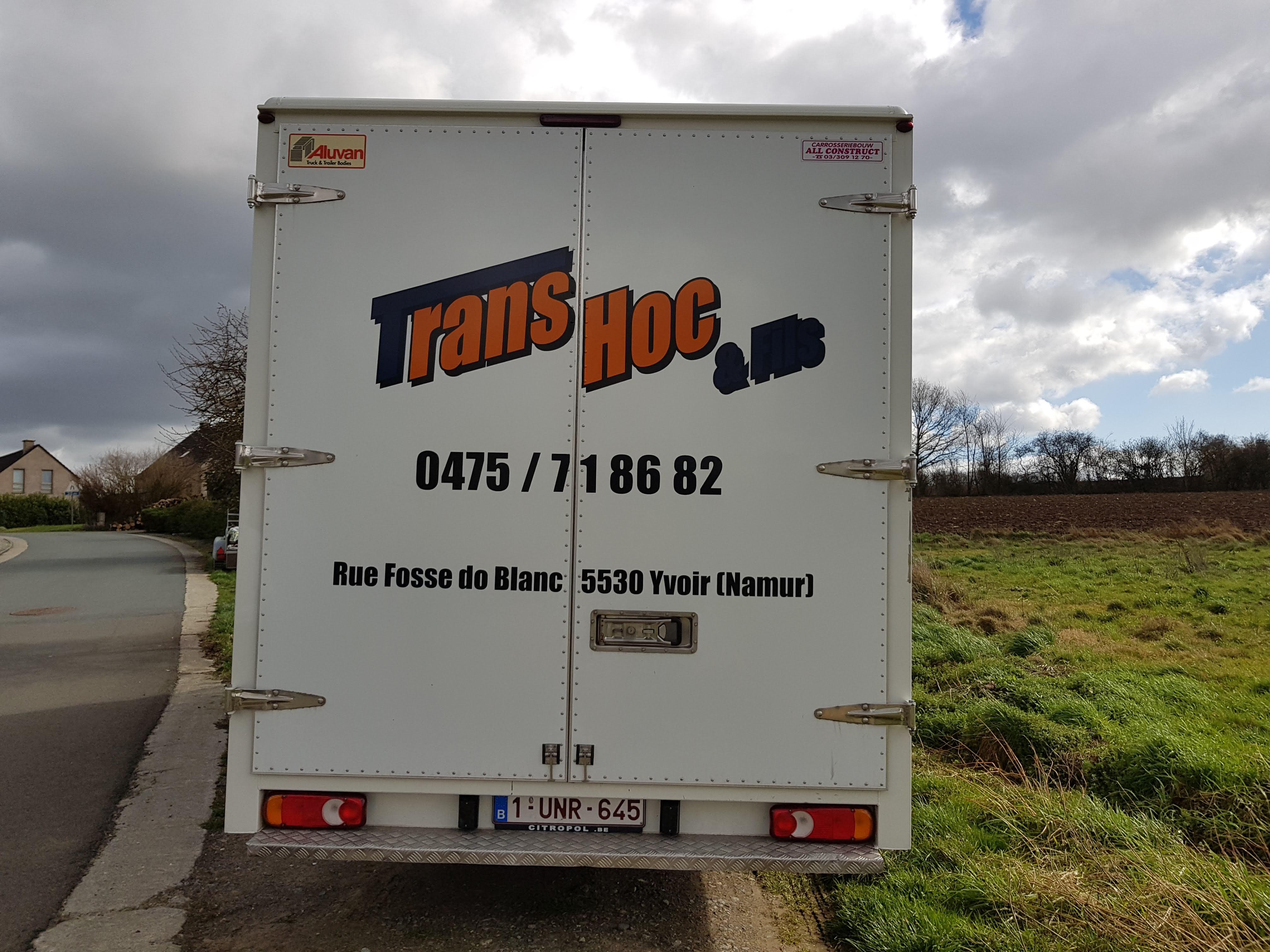 TransHoc & Fils - Camionnette 2