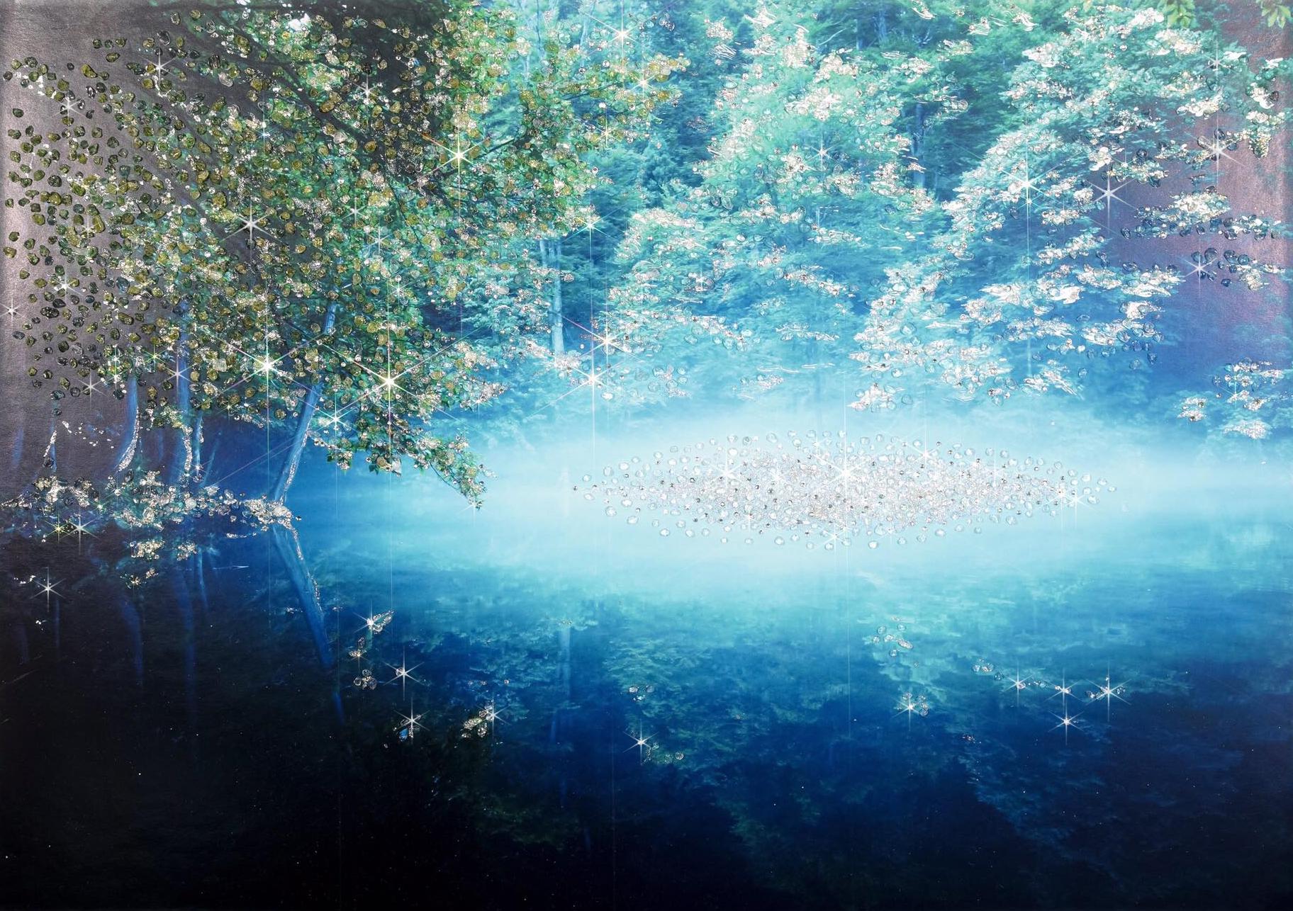 龍神様の棲む池