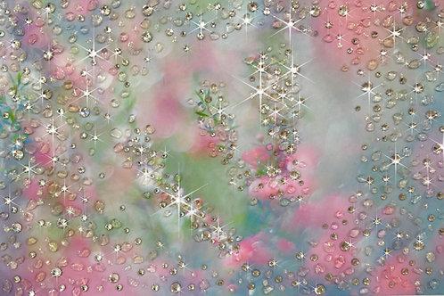 溢れ花(ハガキサイズ)