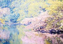 春霞〜上野の森美術館展示作品
