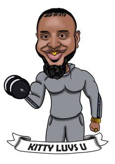 Gym Caricature