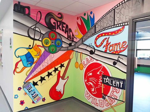 Community and Performing Arts Mural