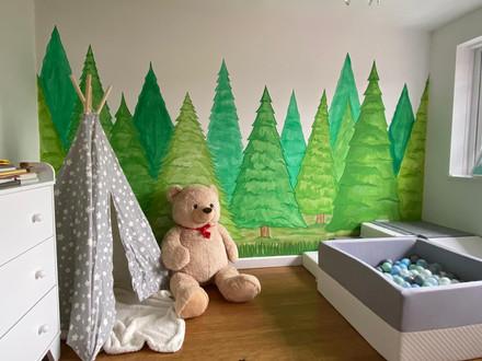 Forest Nursery Mural