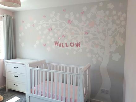 Tree Silhouette Nursery